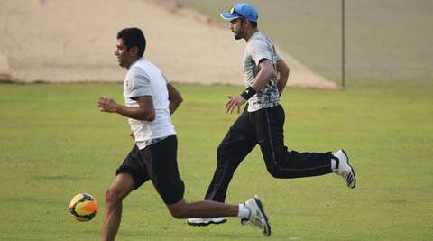Ashwin (L), who has 104 wickets from 19 Tests, last turned up for India in a five-day game in December 2013. (Source: AP)