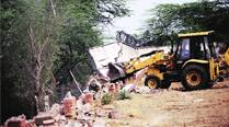 Govt presses on with demolition at Asola Bhatti, house owners cryfoul