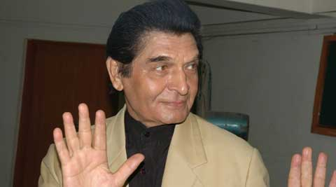 Bollywood actor Asrani.