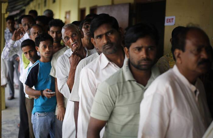 The Congress, BJP, Trinamool Congress, AIUDF, AGP, AAP, SUCI, CPI(M), AIFB and SP are contesting in the five seats during the first phase of elections in the Congress-ruled state. (AP)