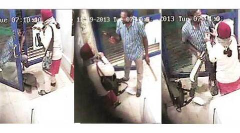 The attack grabbed national and international attention after CCTV footage of the incident was broadcast on television channels.
