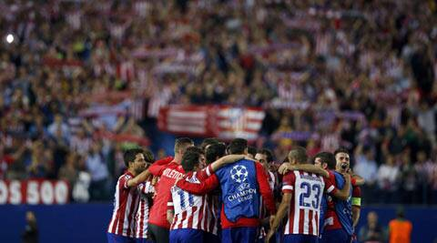 Atletico Madrid lead second-placed Barca by a point in La Liga with six games left. (Reuters Photo)