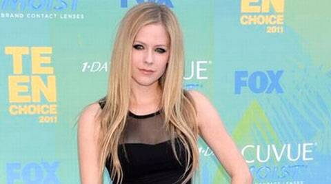 Lavigne originally co-wrote and recorded 'Breakaway' for her own debut album Let Go in 2002, but decided it was unsuitable for the collection.  (AP)