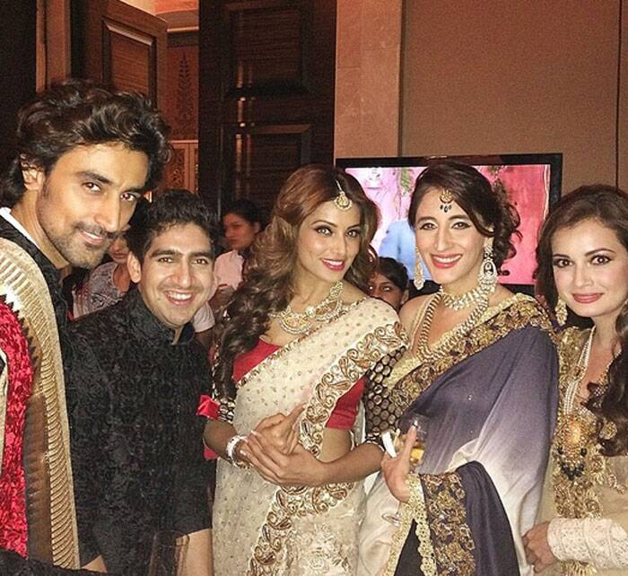 Backstage with Bipasha, Malaika at charity fashion show