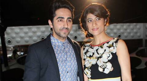 Image result for ayushmaan khurana and wife