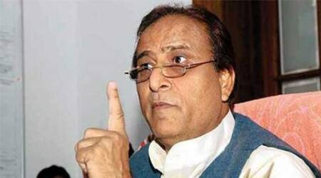 Azam Khan 'gifts' broom, pen to MLAs; taunts Narendra Modi