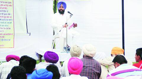 In Ludhiana on Sunday.