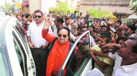 'They love me so much': Bappi Lahiri with fans in Sreerampore.Subham Dutta