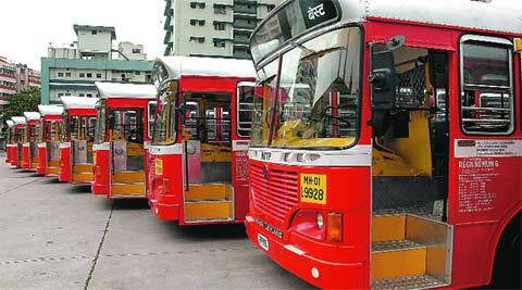 best, best buses, new best bus line, haji ali nsci bus, mumbai news, indian express
