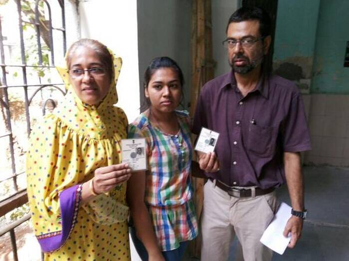 Meanwhile, Doctors from Bhendi Bazaar (Mumbai) said their names were missing from the voter's list. (Photo: Twitter)