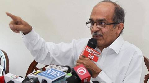 "Bhushan credited the BJP's ""impressive"" victory to ""propoganda blitzkrieg and advertisments"". (PTI)"