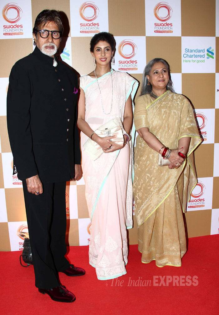 Bollywood megastar and 'Bhoothnath' Amitabh Bachchan attended the show with his wife Jaya and their daughter Shweta Nanda. (Photo: Varinder Chawla)