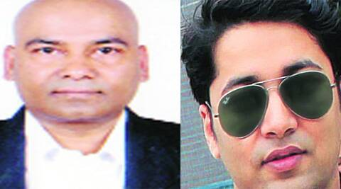 Santosh Gupta quit London job to work with BJP IT cell and (right) Vikas Pandey helps run 'I Support NaMo' account.