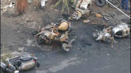 Two blasts in Malegaon, a communally sensitive town in Nashik district, killed 37 people on September 8, 2006.