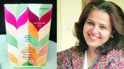 The book jacket; author Rakhshanda Jalil.