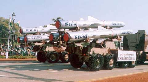 The Brhamos is capable of carrying a conventional warhead of 300 kg. (Photo Courtesy: DRDO website)