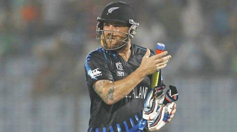 Brendon McCullum suggested New Zealand could be in for another frustrating 50-over World Cup next year (AP)