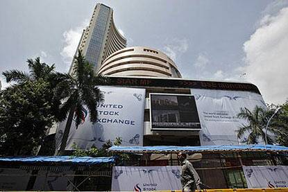 The benchmark BSE Sensex soared to a new record high of 22,812.36 in opening trade. Reuters