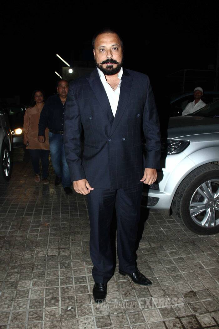 Producer Bunty Walia was also at the screening of the film. (Photo: Varinder Chawla)