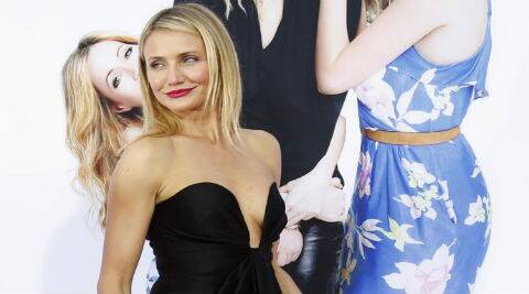 Cameron Diaz: You're stinky, because you use antiperspirant. (Reuters)