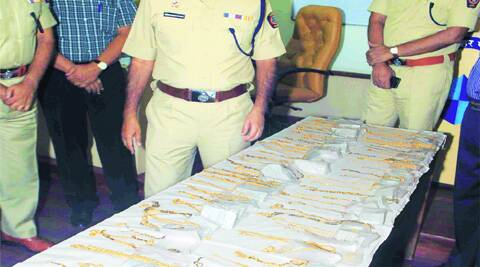 In all, 2.242 kg of stolen gold was recovered from the five suspects and two jewellers.