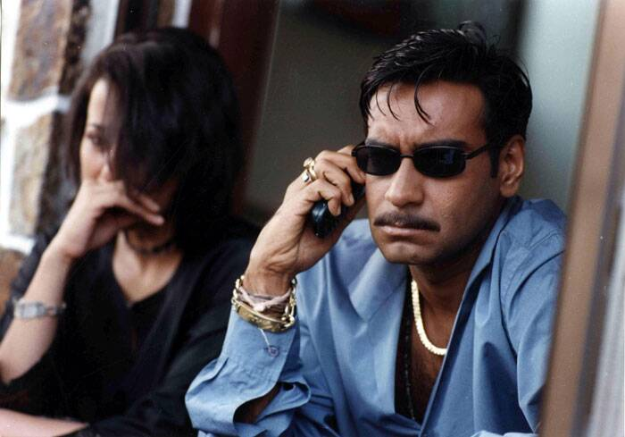 <b>Company (2002)</b>: Ram Gopal Varma's gangster epic 'Company' had Ajay Devgn play a ruthless underworld don. The film received positive reviews from critics and a thumbs up from fans. Company won six out of the 11 awards it was nominated for at the Filmfare Awards. Ajay Devgn individually won Critic's choice Filmfare Best Actor Award.