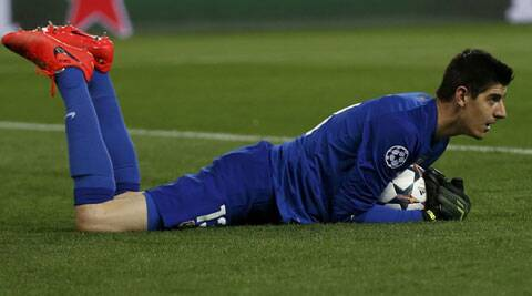 Atletico Madrid goalkeeper Thibault Courtois (Reuters)