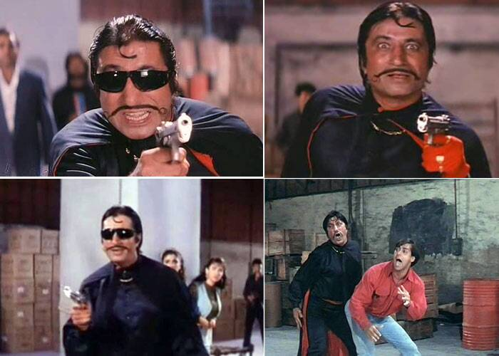 <b>Crime Master Gogo</b>: Shakti Kapoor played the role of Gogo, the family thief. In the climax, the fight scene between Prem and Gogo is one of the most hilarious parts of the film. 'Gogo Ji aapka Ghaghra' is still remembered.