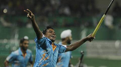 Indian midfielder Danish Mujtaba. (AP)