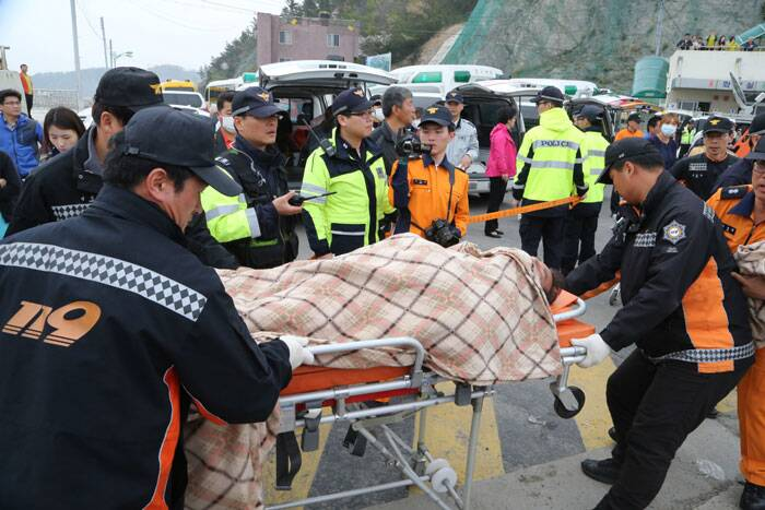 The family of one of the victims, 24-year-old teacher Choi Hye-jung, spoke about a young woman who loved to boast of how her students would come to her office and give her hugs. (AP)