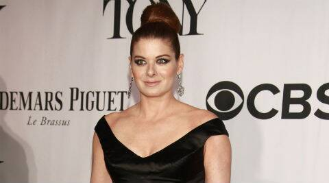 Debra Messing said she drinks homemade green vegetable juices every morning. (Reuters)