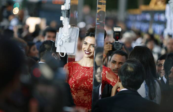 . Deepika bagged the trophy for Best actor in leading role (Female) and the Entertainer of the year later at the awards show. (AP)