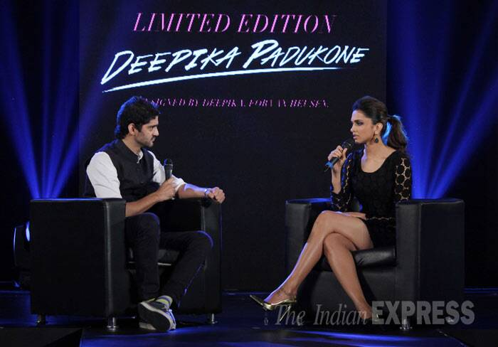 Though Deepika Padukone has put together a collection for Van Heusen, she claimed that her mother influenced her dressing style even today and that she is not at all brand conscious. (Photo: Varinder Chawla)