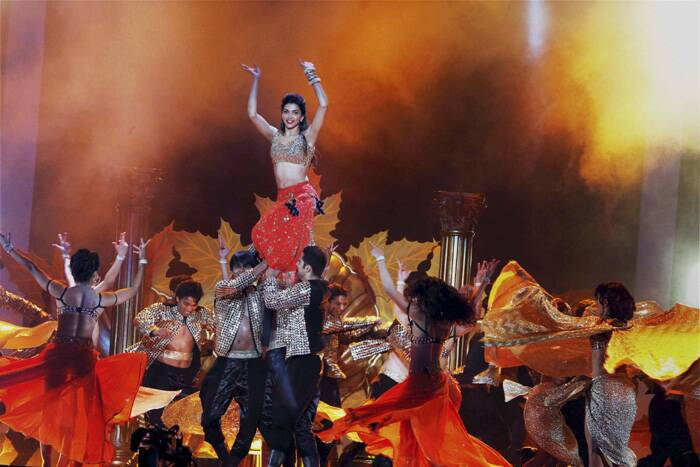 Deepika looks ravishing during her performance. (PTI)