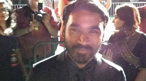 The audience only had ears to Dhanush's famous song 'Kolaveri D'.