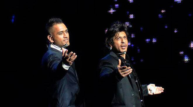 IPL 7: SRK, MSD mesmerise at gala dinner