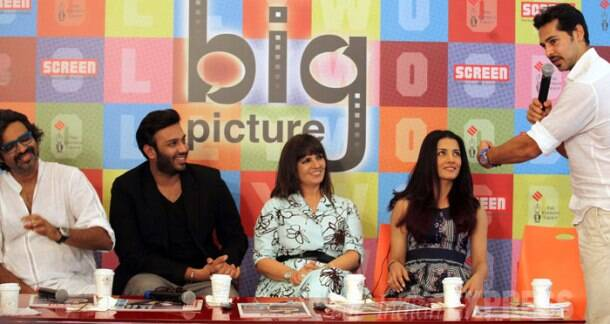 Exclusive: Celina, Neeta Lulla and Dino at Screen Big Picture