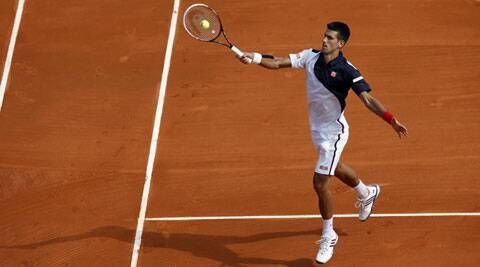 The reigning champion won 6-1, 6-0 in only 45 minutes. (Reuters)