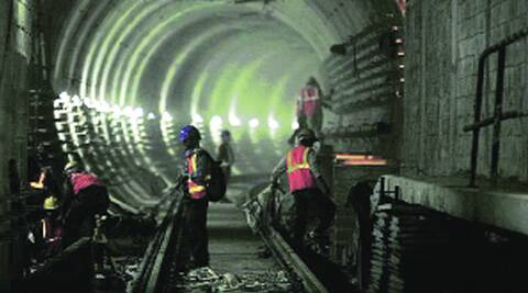 DMRC aims to have its own engineers do all the Metro tunnelling work in the future. (Archive)