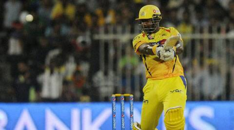 Dwayne Smith top-scored for the Chennai Super Kings with his 46-ball-66. (BCCI/IPL)