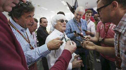 Bernie Ecclestone said there was an agreement in F1's governing body about the plans to expand during the 2015 season (AP)