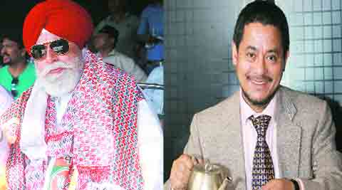 S S Ahluwalia BJP, backed by GJM (L) and M P Lama Independent (R).