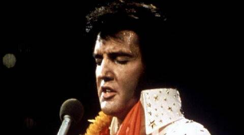 Elvis Presley's dental mould and a dental crown made for the music icon will also be on display for fans. (Reuters)
