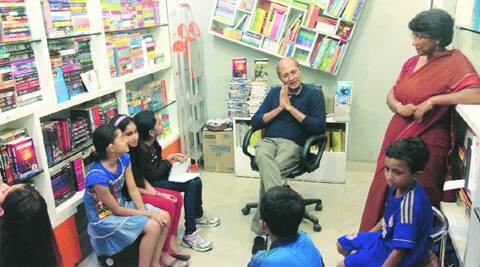 Book discussions for children were common at the store.