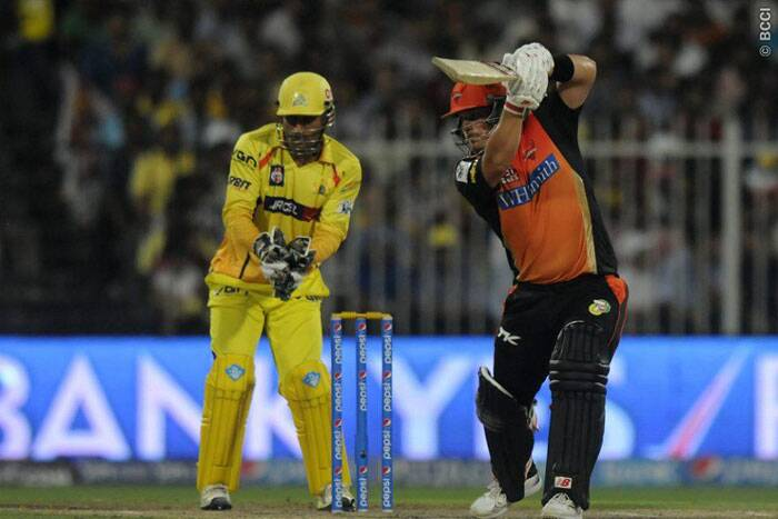 It was not a bang bang knock from Finch, but the opener, who saw wickets fall at the other end, held the innings together for a long time (Photo: BCCI/IPL)
