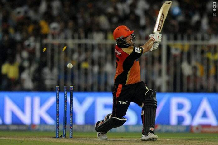 Finch's 45-ball 44 was laced by five boundaries and had no hits over the fence (Photo: BCCI/IPL)