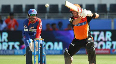 Sunrisers Hyderabad opener Aaron Finch won the man of the match award for his match-winning knock of 88 runs off 53 deliveries. (BCCI/IPL)