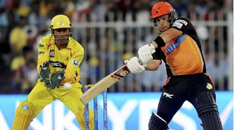 Aaron Finch has scored 153 runs in four IPL games for Sunrisers Hyderabad. (PTI/BCCI)