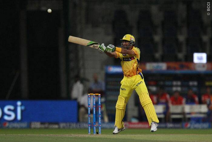 The Chennai Super Kings finished on 177/7 that will be a difficult to chase for the Delhi Daredevils. (Photo: BCCI/IPL)