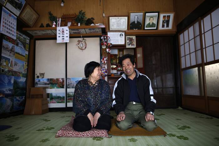 For the first time since Japan's nuclear disaster three years ago, authorities are allowing residents to return to live in their homes within a tiny part of a 20-kilometer (12-mile) evacuation zone around the Fukushima plant. (AP)